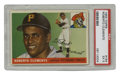 Baseball Cards:Singles (1950-1959), 1955 Topps Baseball Roberto Clemente #164 PSA EX 5. Here we offer a fine example of the HOF great Roberto Clemente's tremen...