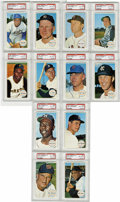 Baseball Cards:Lots, 1964 Topps Giants PSA NM-MT 8 Near Set (49/60). Topps released the oversized Giants issue in 1964 to much acclaim in the ho...