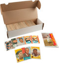 Baseball Cards:Sets, 1959 & 1960 Topps Baseball partial Set Pair (466 cards) Plus LA Dodgers Post Cards. ...