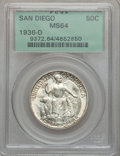 Commemorative Silver: , 1936-D 50C San Diego MS64 PCGS. PCGS Population (1747/4851). NGCCensus: (630/1940). Mintage: 30,092. Numismedia Wsl. Price...