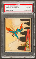 "Non-Sport Cards:Singles (Post-1950), 1940 Gum Inc. ""Superman"" #14 Maniac at Large PSA EX-MT 6...."