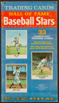"Baseball Cards:Sets, 1961 Golden Press ""Baseball Hall of Fame"" Complete Set (33) As Intact Book. ..."