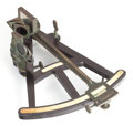 Other:American, A BOXED PRINCE AMERICAN SEXTANT . 19th century. Marks: A.PRINCE, PHILADELPHIA. 12 inches high (30.5 cm). ... (Total: 2Items)