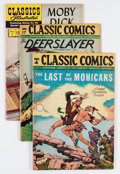 Golden Age (1938-1955):Classics Illustrated, Classic Comics/Classics Illustrated Group (Gilberton, 1946-64)Condition: Average VF-.... (Total: 7 Comic Books)