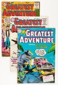 Silver Age (1956-1969):Adventure, My Greatest Adventure Group (DC, 1955-64) Condition: Average GD.... (Total: 64 Comic Books)