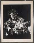 Music Memorabilia:Photos, Led Zeppelin Jimmy Page Framed Photo (c. 1970s)....