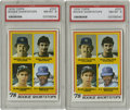 Baseball Cards:Singles (1970-Now), 1978 Topps Rookie Shortstops #707 PSA NM-MT 8. Nice PSA 8 pair of the Rookie Shortstops card from the 1978 Topps baseball i... (Total: 2 Items)