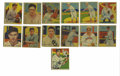 Baseball Cards:Lots, 1934-36 Diamond Stars Baseball Cards Group Lot of 13. Thirteencards from the 1934-36 Diamond Stars issue are offered here:...