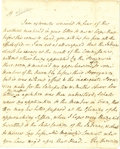 "Autographs:Statesmen, Iroquois Treaties - Henry Moore Autograph Letter Signed ""H.Moore"" as Governor of New York. Three pages, 5.5"" x 8"", New ..."