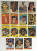 Baseball Cards:Lots, 1957-66 Topps Cards Group Lot of 95+. Fantastic array of over 95Topps cards from the decade between 1957-66. Much star ta...