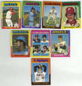 Baseball Cards:Lots, 1975 Topps Baseball Near Set (655/660). This offered grouping fromthe colorful '75 Topps issue is only five cards short of...