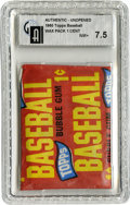 Baseball Collectibles:Others, 1965 Topps Baseball One-Cent Wax Pack GAI NM+ 7.5. Sealed andslabbed penny pack from the 1965 Topps issue, a set whose hig...