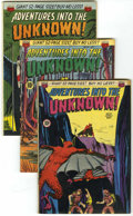 Silver Age (1956-1969):Horror, Adventures Into The Unknown Group (ACG, 1950-53) Condition: AverageVG+.... (Total: 8 Comic Books)