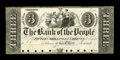Canadian Currency: , Toronto, UC- The Bank of the People $3 Ch. 570-12-05P Proof. ...