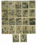 Autographs:Sports Cards, 1948 Bowman Baseball Group Lot of 22, 17 Signed. Of the 22 cards that we offer here from the '48 Bowman baseball issue, 17 ...