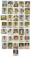 Autographs:Sports Cards, 1950 Bowman Baseball Signed Cards Group Lot of 36. Thirty-six cardsfrom the 1950 Bowman baseball issue have been signed an...
