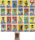 Autographs:Sports Cards, 1961 Fleer Baseball Near Complete Set (150/154) with 35 Signed.Here we collect 150 of the 154-card 1961 Fleer baseball set...