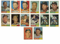 Autographs:Sports Cards, 1961 Topps Baseball Signed Cards Group Lot of 87, 84 Unique. Herewe make available 87 signed cards form the 1961 Topps iss...