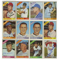 Autographs:Sports Cards, 1966 Topps Baseball Signed Cards Group Lot of 63. Sixty-three signed cards from the 1966 Topps set are offered here, with e...