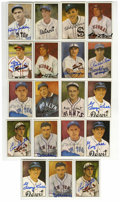 Autographs:Sports Cards, 1983 Big League Collectibles Diamond Classics Signed Cards GroupLot of 19. Group of 19 signed cards is offered here, each ...