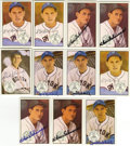 Autographs:Sports Cards, 1983 Big League Collectibles Original All-Stars Signed Cards GroupLot of 11. Eleven signed cards from the 1983 Big League ...
