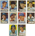 Autographs:Sports Cards, 1952 Topps Baseball Reprints Signed Cards Group Lot of 220. Lot of220 cards from the reprint issue of the 1952 Topps set, ...