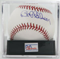 Autographs:Baseballs, Bob Gibson Single Signed Baseball, PSA Gem Mint 10. Aggressivepitcher Bob Gibson has applied a signature so perfect to an ...