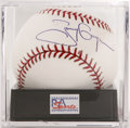 Autographs:Baseballs, Tony Gwynn Single Signed Baseball, PSA Mint 9. One of the greatesthitters of the past quarter century, Gwynn is mere month...
