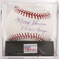 Autographs:Baseballs, Moose Skowron Single Signed Baseball, PSA Mint+ 9.5. In his nineyears with the New York Yankees, Moose Skowron saw much s...