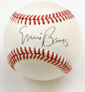 Autographs:Baseballs, Ernie Banks Single Signed Baseball. Mr. Cub himself, Ernie Banks,has made it possible for us to offer this fine ONL (Giama...