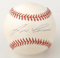 Autographs:Baseballs, Jose Canseco Single Signed Baseball. One half of the legendaryOakland A's Bash Brothers duo, Jose Canseco can be more favo...