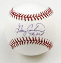 """Autographs:Baseballs, Gary Carter """"The Kid"""" Single Signed Baseball. A terror both withthe bat as well as defensively as a catcher, Gary Carter t..."""