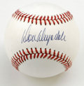 Autographs:Baseballs, Don Drysdale Single Signed Baseball. Having played his entirecareer with the Dodgers, including some tremendous years with...