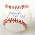 "Autographs:Baseballs, Fergie Jenkins ""HOF 7/21/91"" Single Signed Baseball. Along withGreg Maddux, Fergie Jenkins is the only major league pitche..."