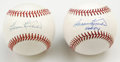 Autographs:Baseballs, Harmon Killebrew Single Signed Baseballs Lot of 2. Fine pair ofKillebrew singles is offered here, with one bearing the ins...(Total: 2 Items)