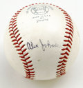 Autographs:Baseballs, Tony Conigliaro and Alex Johnson Dual-Signed Baseball. Theseteammates on the 1971 California Angel squad have each signed ...