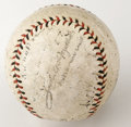 Autographs:Baseballs, 1930s Cincinnati Reds Team Signed Baseball with Bobby Wallace.While many of the signatures on the provided ONL (Heydler) b...