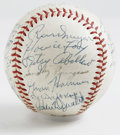 Autographs:Baseballs, 1952 Philadelphia Phillies Team Signed Baseball. Philadelphia'sNational League team, the Phillies, has produced the offere...