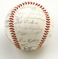 Autographs:Baseballs, 1964 Milwaukee Braves Team Signed Baseball. Thirty signatures fromthe '64 Milwaukee Braves appears on the offered ONL (Gil...