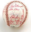 Autographs:Baseballs, 1967 Philadelphia Phillies Team Signed Baseball. The ONL (Giles)baseball that we see here has been signed, mostly in stron...