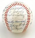 Autographs:Baseballs, 1980 Minnesota Twins Team Signed Baseball. Great piece of MinnesotaTwins history captures 27 signatures from the '80 team ...