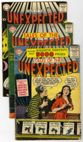 Silver Age (1956-1969):Horror, Tales of the Unexpected Group (DC, 1956-61) Condition: AverageGD.... (Total: 4 Comic Books)