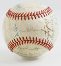 Autographs:Baseballs, 1979 Cincinnati Reds Team Signed Baseball. Nice collection ofsignatures from the NL West Champion '79 Cincinnati Reds. Tw...