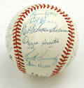 Autographs:Baseballs, 1982 St. Louis Cardinals World Champion Team Signed Baseball.Twenty-one World Champion signatures have been applied to th...