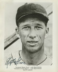 Autographs:Photos, Lefty Grove Signed Photograph. Stellar left-hander for thePhiladelphia Athletics Lefty Grove was integral in that team's t...