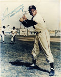 Autographs:Photos, Willie Mays Signed Photograph. Fantastic sharpie signature of thefive-tool superstar Willie Mays appears on this color 8x1...