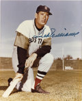 "Autographs:Photos, Ted Williams Signed Photograph. Splendid blue sharpie signaturefrom Ted Williams appears on this great 8x10"" image. LOA ..."