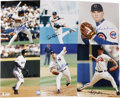 """Autographs:Photos, Modern Baseball Stars Signed Photographs Lot of 6. One half dozensigned full color 8x10"""" prints offered here each feature ..."""