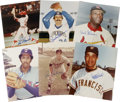 """Autographs:Photos, Baseball Hall of Famers Signed Photographs Lot of 15. All 15 of the color 8x10"""" prints that are offered here have been sign..."""
