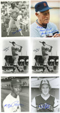 "Autographs:Photos, Massive Collection of Signed Photographs Lot of Over 110. Largegroup of signed 8x10"" photos. Highlights include: Sparky An..."